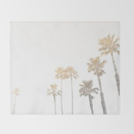 Tranquillity - gold dust Throw Blanket