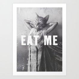 EAT-ME Art Print