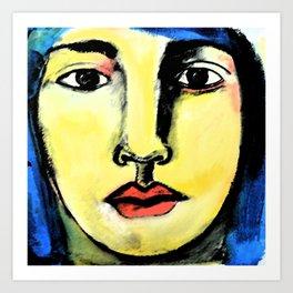 De las Mil y una Caras Art Print