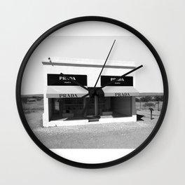 MARFA, Fashion photography, High Fashion Wall Clock
