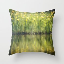 Morning charm Throw Pillow