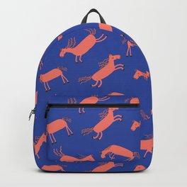 Happy Horses - Royal Blue Backpack