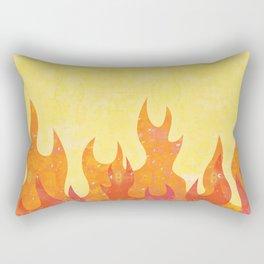 Fiery Grill Rectangular Pillow