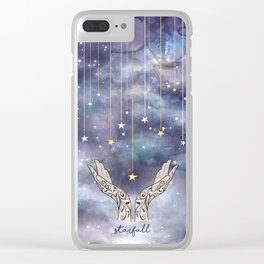 Starfall - ACOTAR inspired Clear iPhone Case