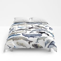Whale Song Comforters