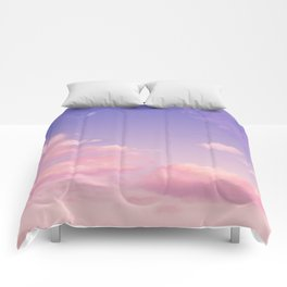 Sky Purple Aesthetic Lofi Comforters