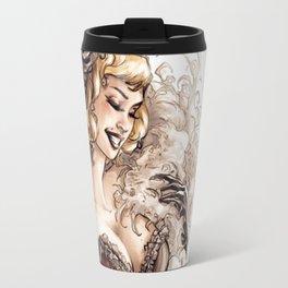 Burlesque Travel Mug