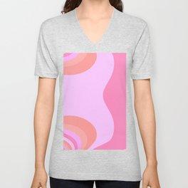 Pink Joy Unisex V-Neck