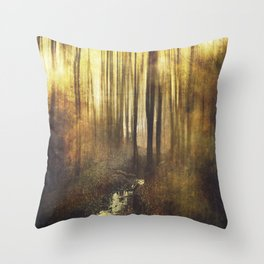 Vintage Woods Throw Pillow