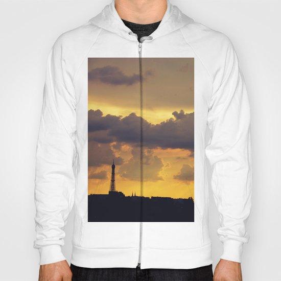 Sunset over Paris Hoody