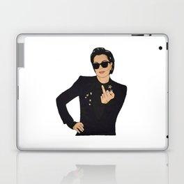 KRIS JENNER ATTITUDE Laptop & iPad Skin