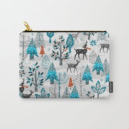 Snow Much Courage Carry-All Pouch