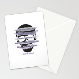 I want to be the purveyor of a certain silhouette... Stationery Cards