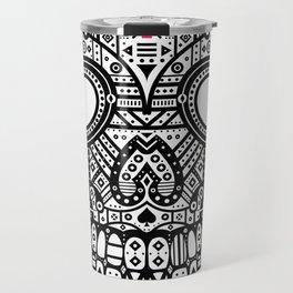 Symmetric Skull Travel Mug