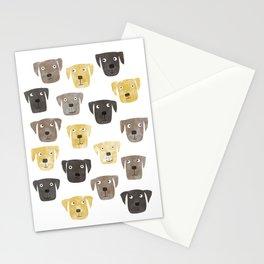 Labrador Retriever Dogs Stationery Cards