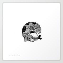 2017 Inktober #3 Art Print