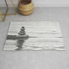 Seaside Harmony Zen Pebble Rug