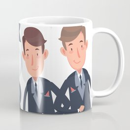 Mr and Mr gay wedding Coffee Mug