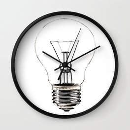 I Have an Idea!  Let there be light... Wall Clock