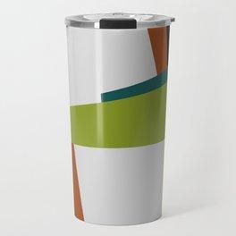 Mid Century Composition 2 Travel Mug