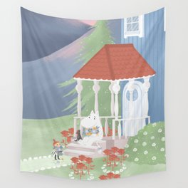 Spring in Moominvalley Wall Tapestry