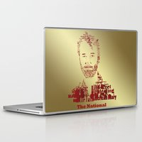 the national Laptop & iPad Skins featuring The National by Luke Eckstein