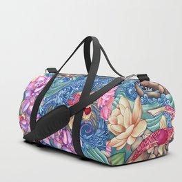 Orchid Splash Duffle Bag