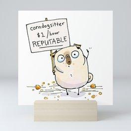 Corndogsitter Mini Art Print