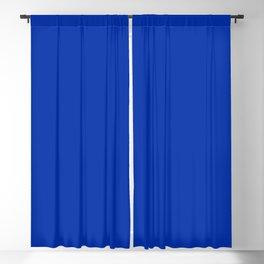 International Klein Blue Blackout Curtain