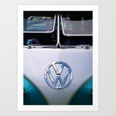Volkswagen Split Screen Camper Art Print