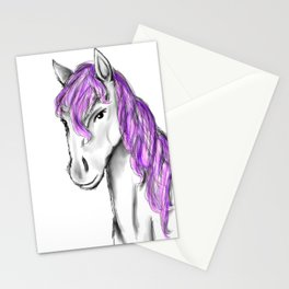 Princess Horse Stationery Cards