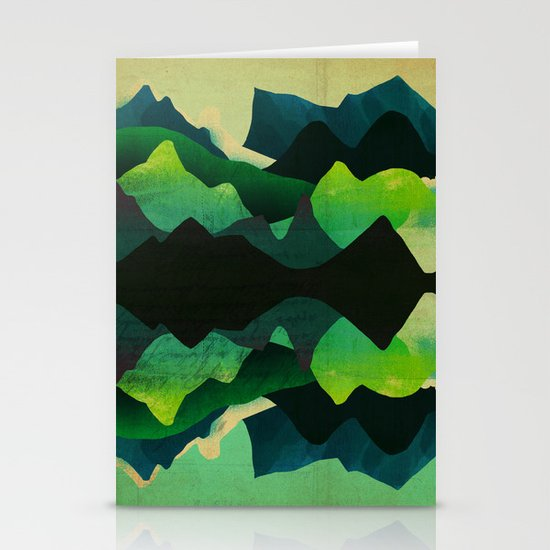 Mountain Reflections Stationery Cards