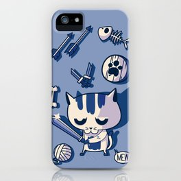 Cat the Conqueror iPhone Case