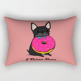 Leia, I Do'nut Share Rectangular Pillow