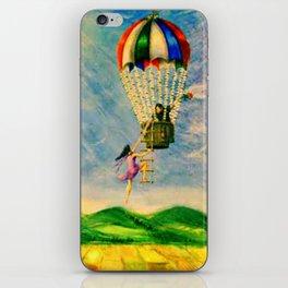 BALLOON LOVE: Flying Away iPhone Skin