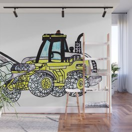 Front-End Loader Wall Mural