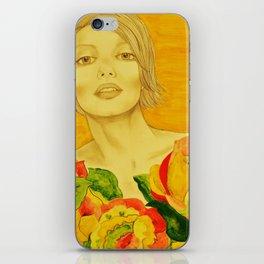 Flowers serie iPhone Skin