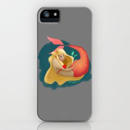 A Maid of La Mer  iPhone Case