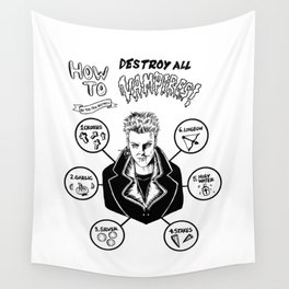 How To Kill A Lost Boy Wall Tapestry