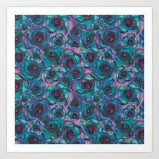 Vibrant Rosa Art Print