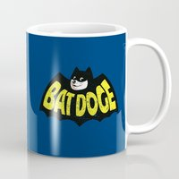 doge Mugs featuring BatDoge (Shibe Doge) by Tabner's