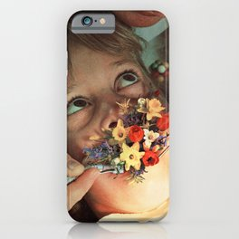Oral Floral iPhone Case