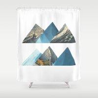 aquarius Shower Curtains featuring Aquarius by American Cut