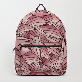 PALE DOGWOOD LEAVES B (abstract flowers nature) Backpack