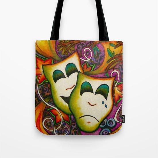 Masks (Theatre) Tote Bag