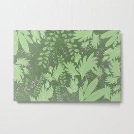 Herbal Jungle Metal Print