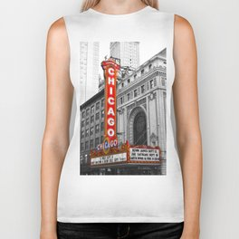 Chicago Theater Biker Tank