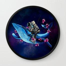 Space Wanderer Wall Clock
