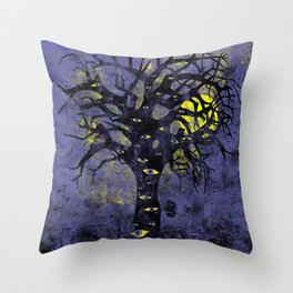 The Vision Tree Throw Pillow