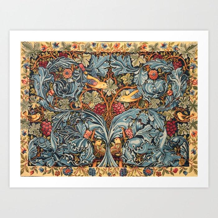 "William Morris ""Acanthus and vine"" 2. Kunstdrucke"